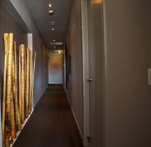Spa Nirvana hallway